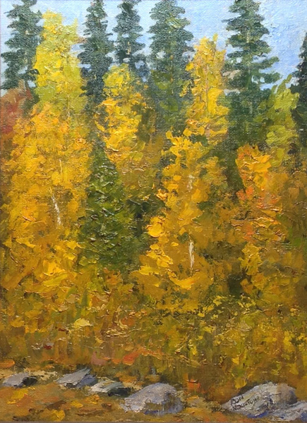 Quaking Aspen and Pines